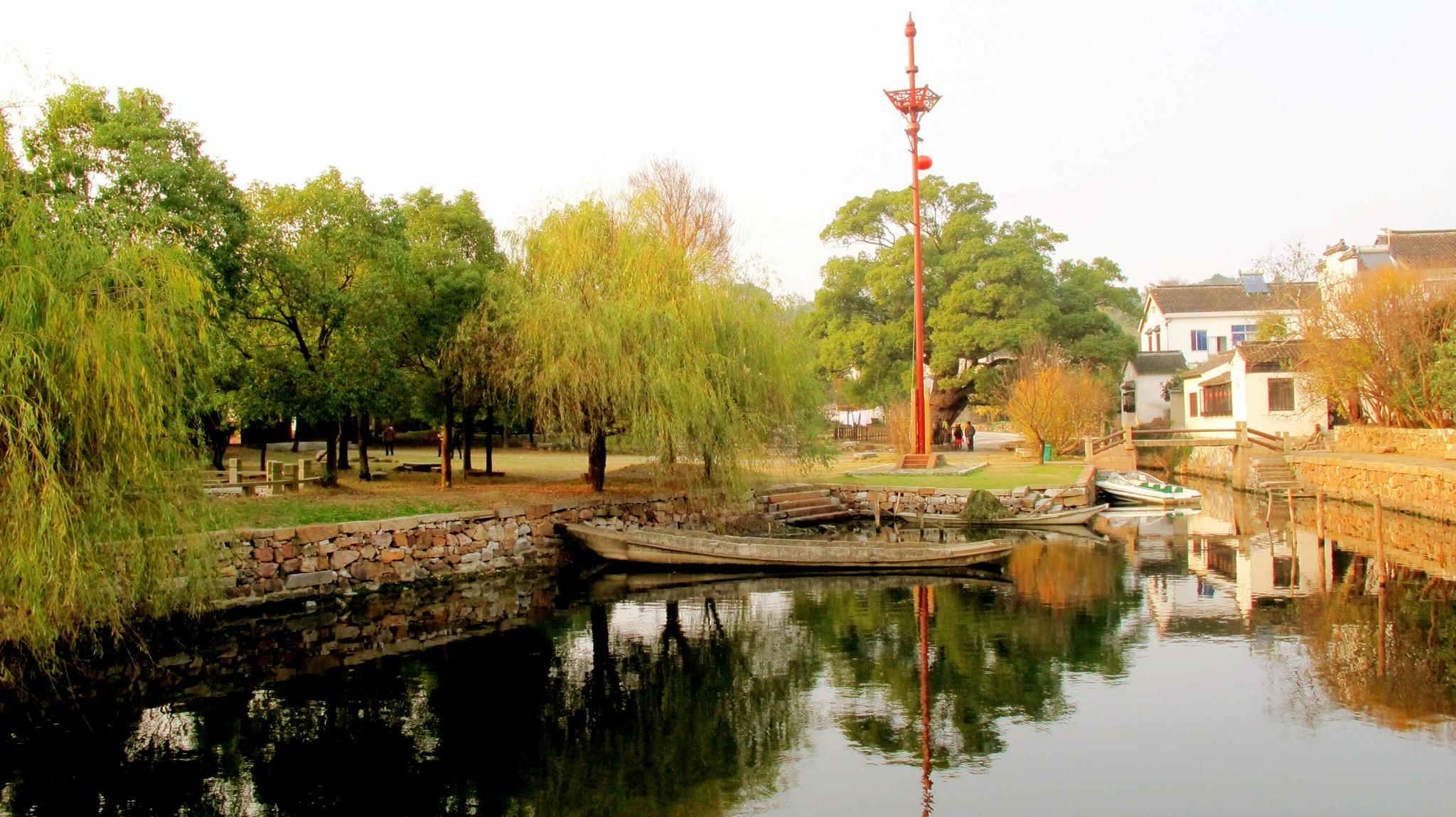 明月湾-古村